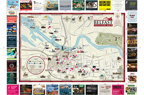 Belfast Visitor Map and Guide