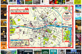 Dublin Attractions and Activities Map and Guide