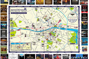 Dublin Pubs, Bars and Entertainment Map Guide