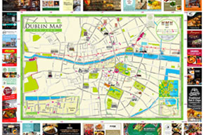 Dublin Good Food Map and Guide