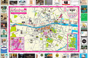 Dublin Shopping Map Guide