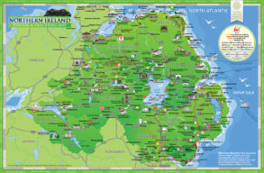 Northern Ireland Visitor Map Guide