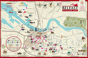 Belfast Map Poster